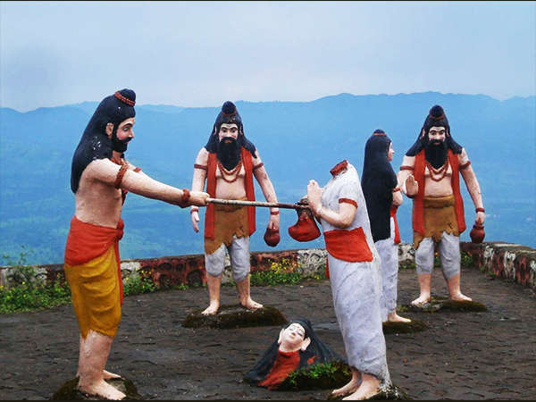 Parashuram Beheading (killing) His Mother