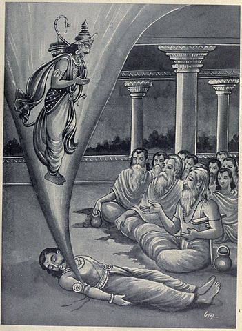 Prithu appears from right arm of Vena's corpse