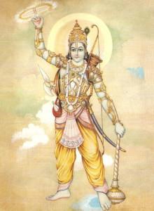 Krishna with Sudarshan Chakra