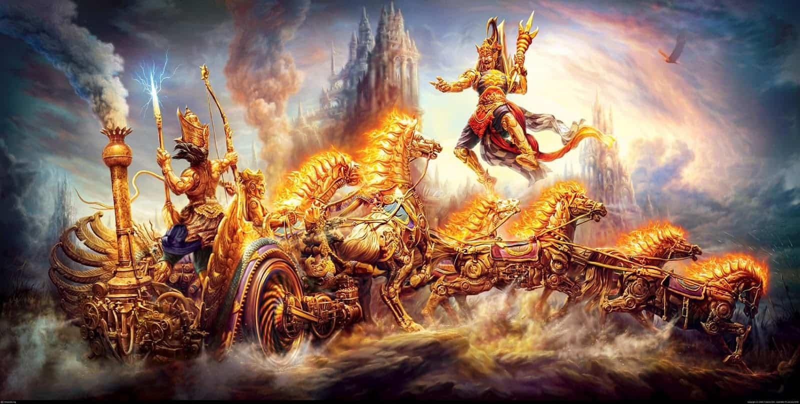Suryaputra Karna kills Ghatotkacha