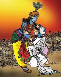 Gandharis-curse-to-Krishna