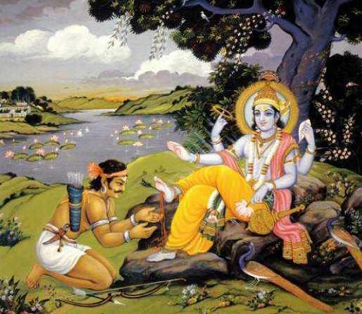 Krishna death by hunter Jara