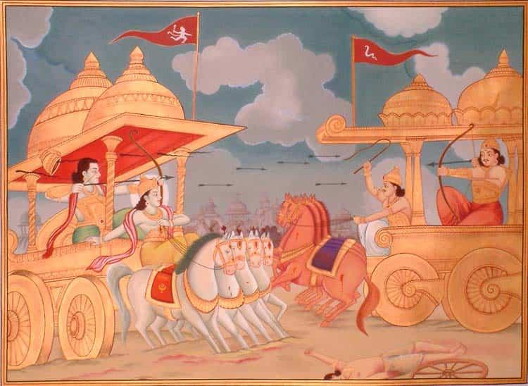 suryaputra karna vs arjuna
