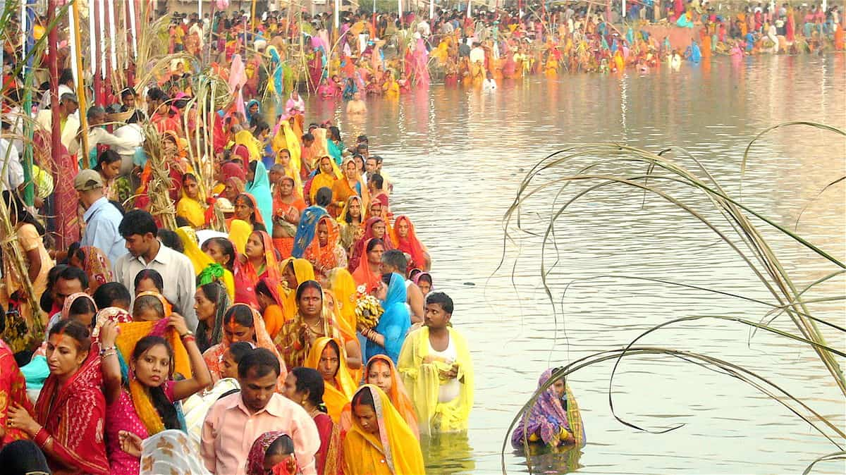 Chhath Puja First Day