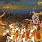Suryaputra karna attacked by Arjuna