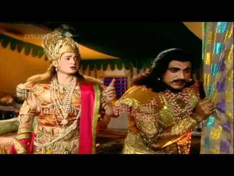 Krishna reveals Karna's true identity