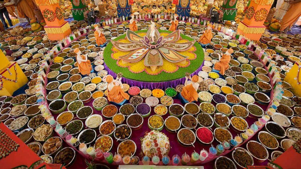 Annakoot or Annakut Festival - Govardhan Puja