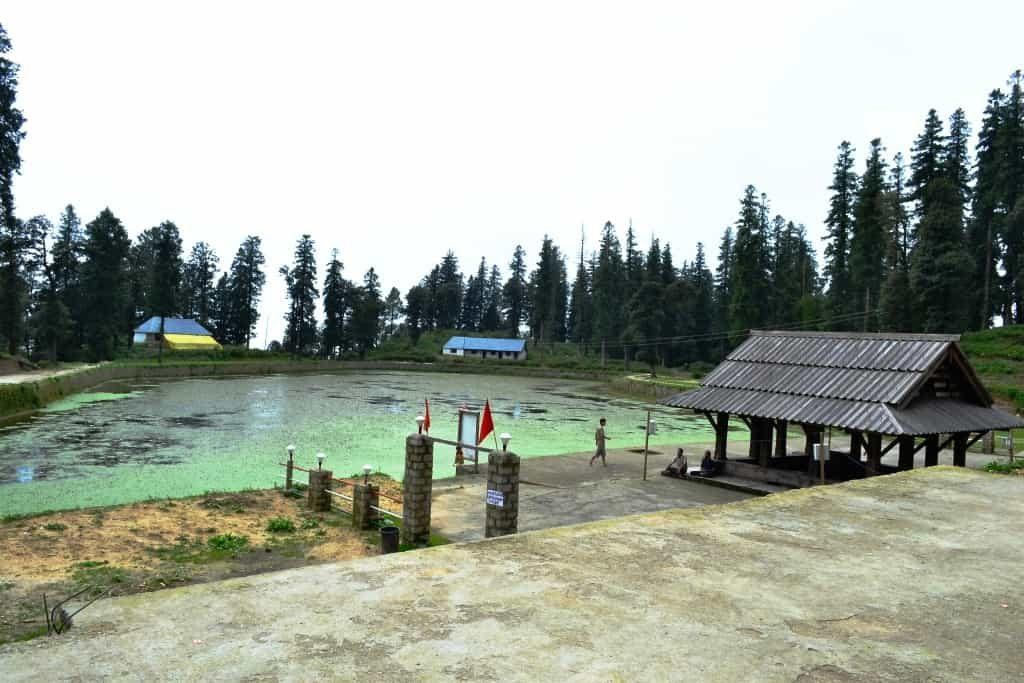 The Kamrunag Lake and the Temple of God Kamrunag (barbarik)