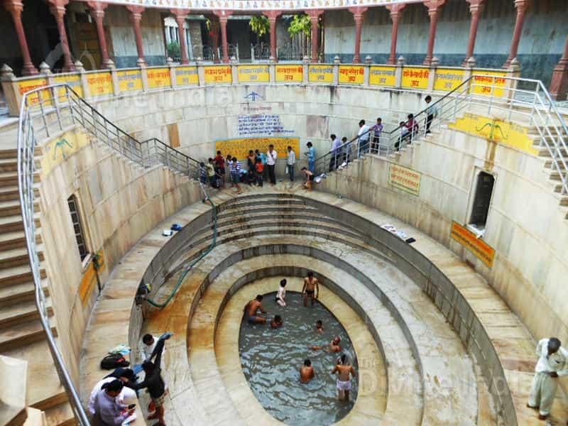 shyam kund in khatushyamji temple (barbarik)