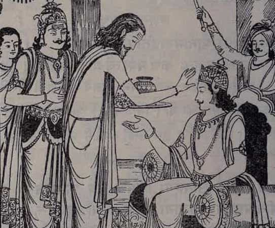 Coronation of Karna - Angaraja - different names of Karna