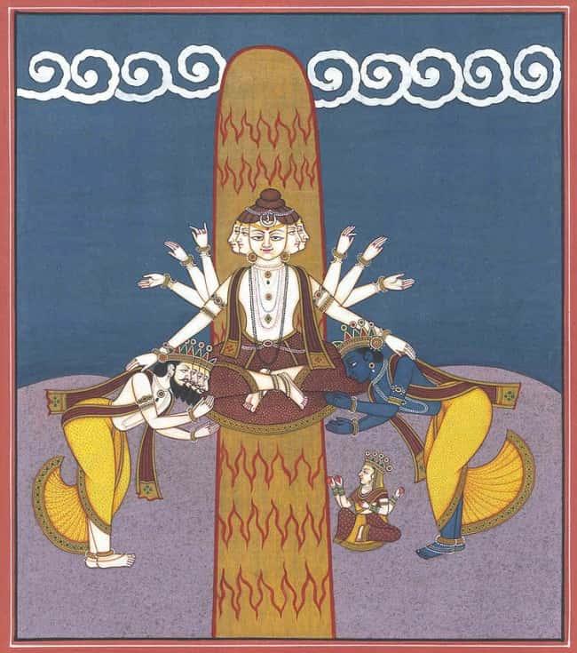 Lord Shiva appeared in the form of Jyotirlinga - Mahashivaratri