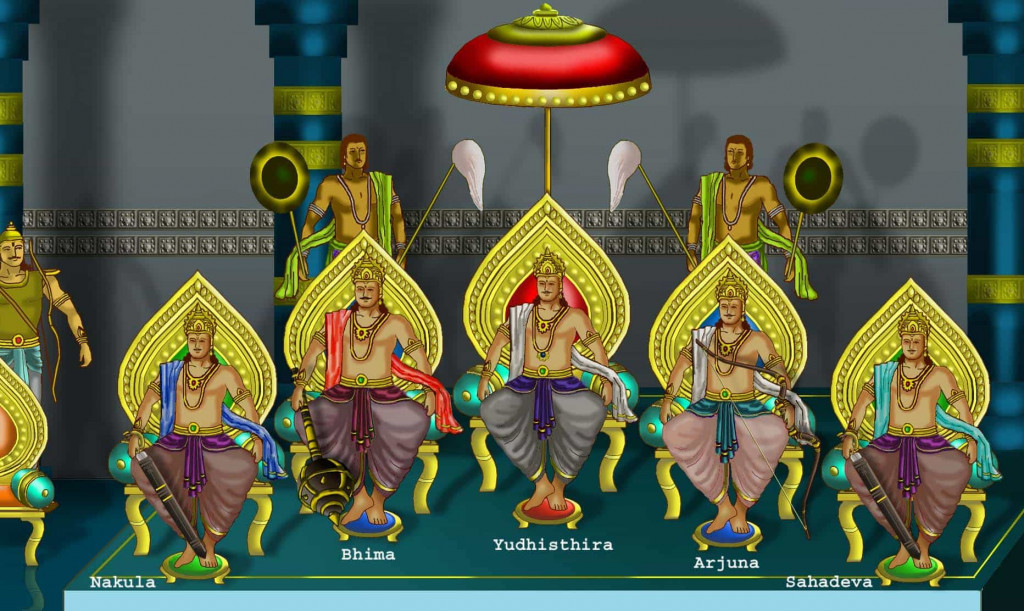 Pandavas survived Kurukshetra war