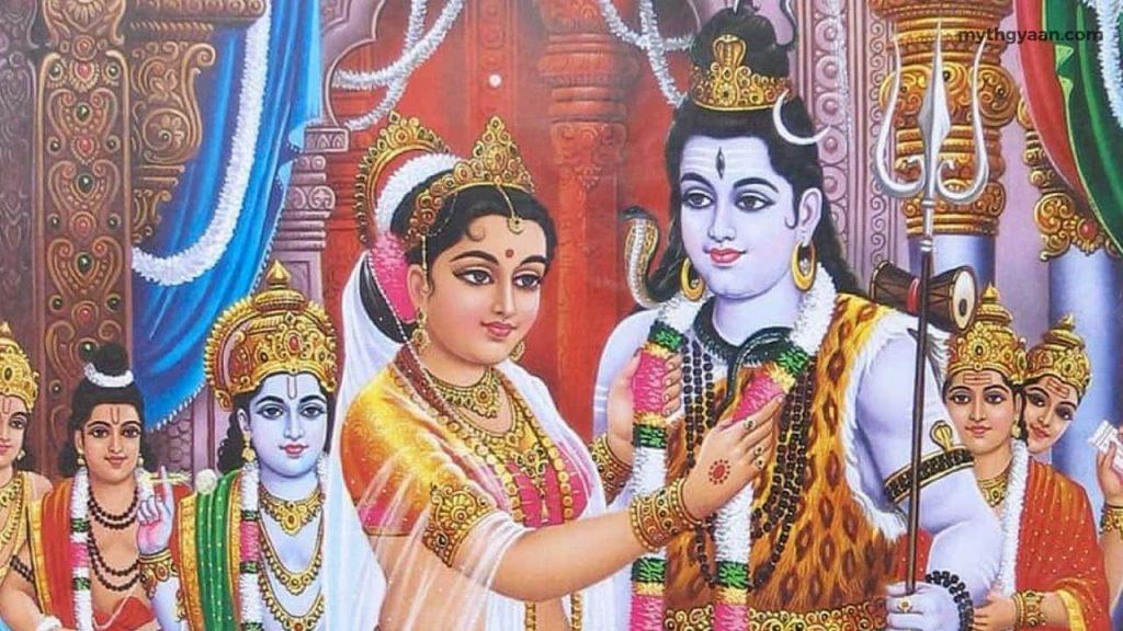 Shiva and Parvati Marriage - Maha Shivaratri