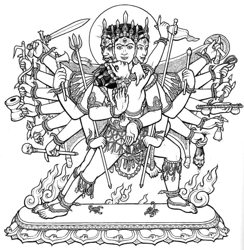 SvacchandaBhairava - Maha Shivaratri