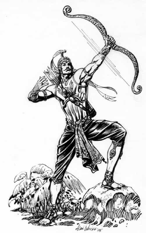 Arjun vows to killYudhishthira