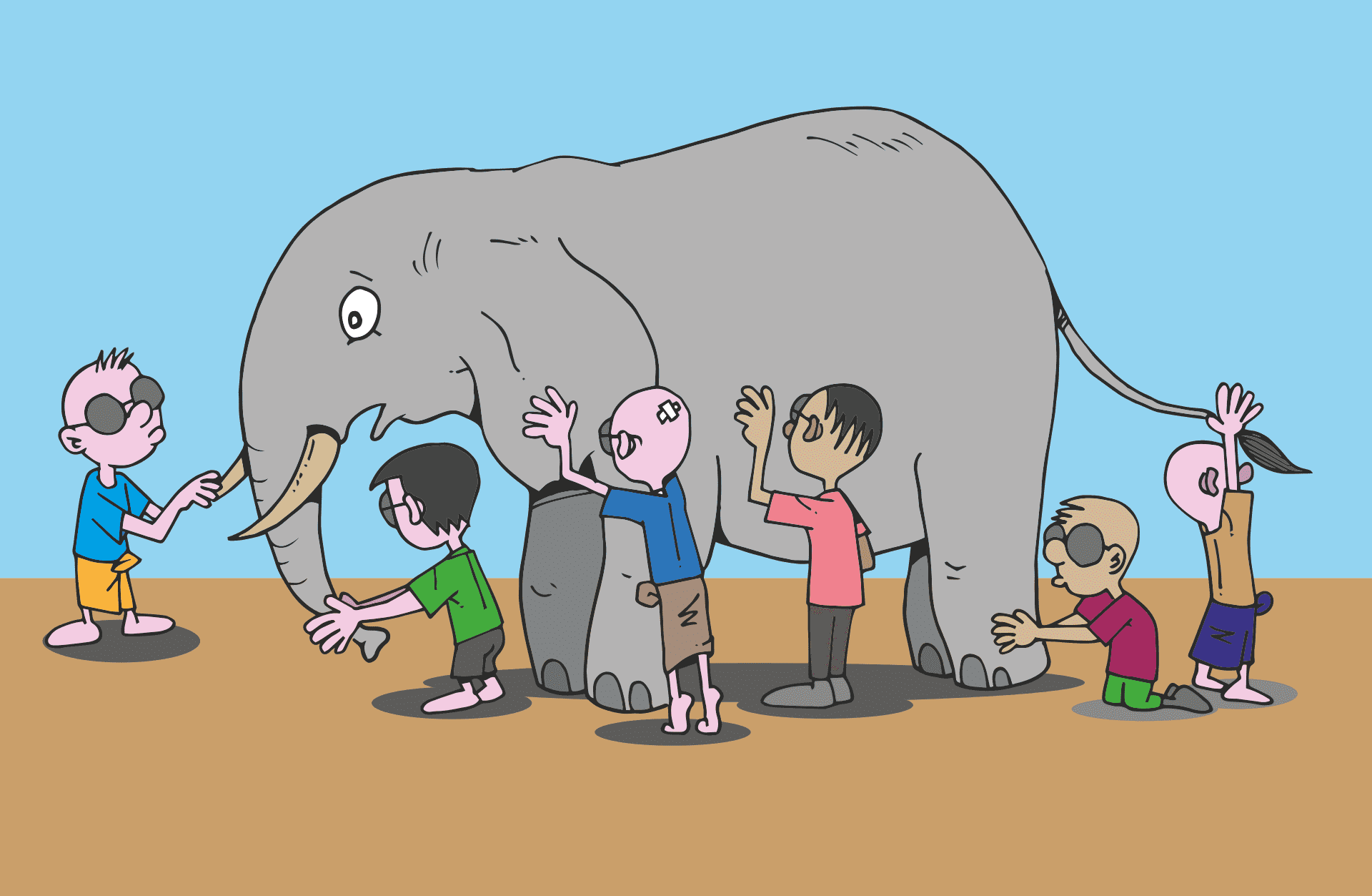 Blind Men and the Elephant: Poem | Story | Moral of the Story |