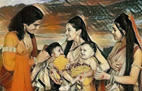 Birth of Nakula and Sahadeva - Pandavas - Mythgyaan