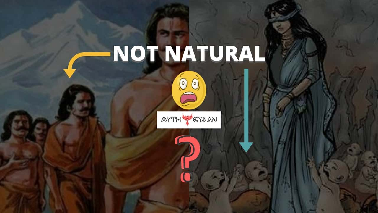 Birth of Pandavas and Kauravas is not natural? Read Complete Story