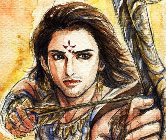 Arjuna exile for 12 years in Mahabharata, Why?