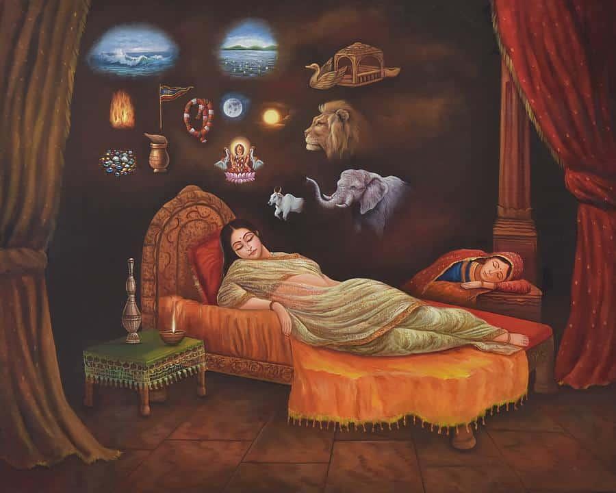 dreams-of-mother-trishala - mahavir jayanti