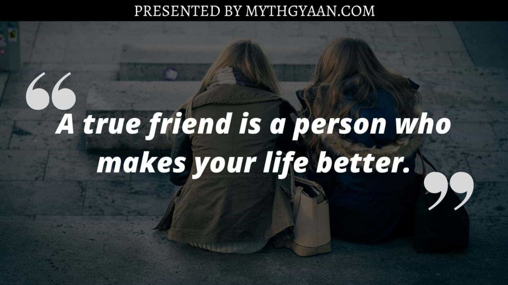Karate Kid Quotes - A true friend is a person who makes your life better.