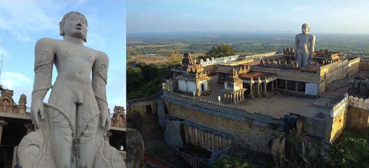 Gomateshwara (Bahubali) Temple, Karnataka - Famous Jain Temples