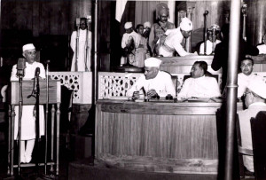 Jawaharlal Nehru Famous Speech – At the stroke of midnight hour