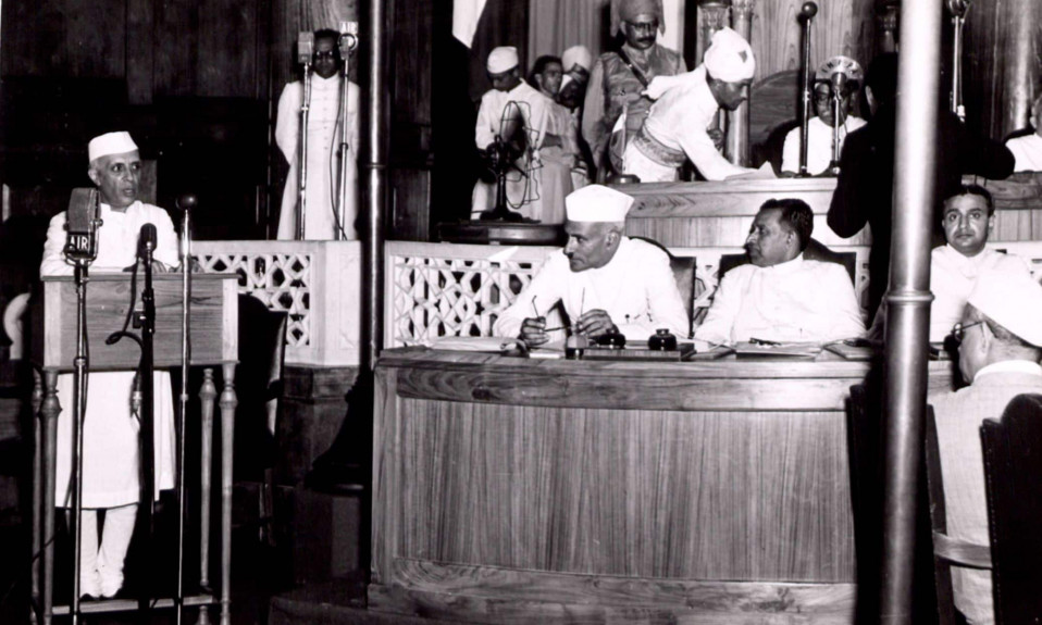 Jawahar Lal Nehru Famous Speech - At the stroke of midnight hour