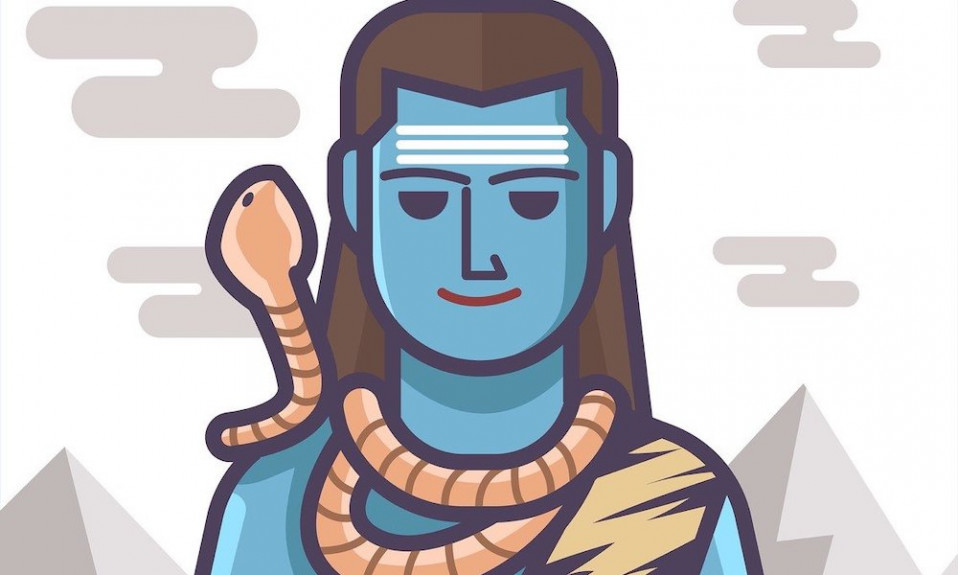 Why Lord Shiva wear snake in his neck?