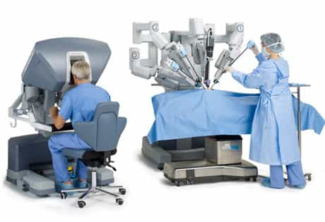 robot assisted surgery using ai