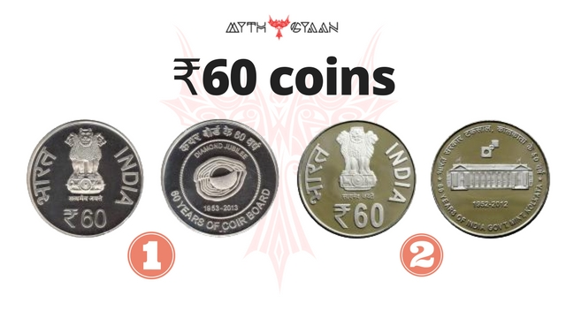 Special Coins of ₹60