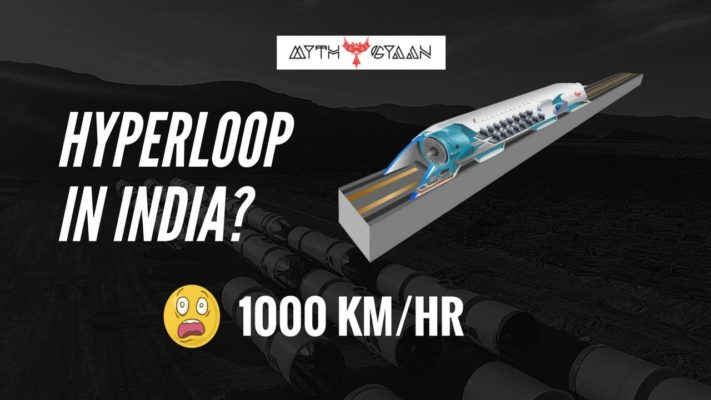 Hyperloop in India – Mumbai to Pune in just 20 minutes with speed of 1000 km/hr