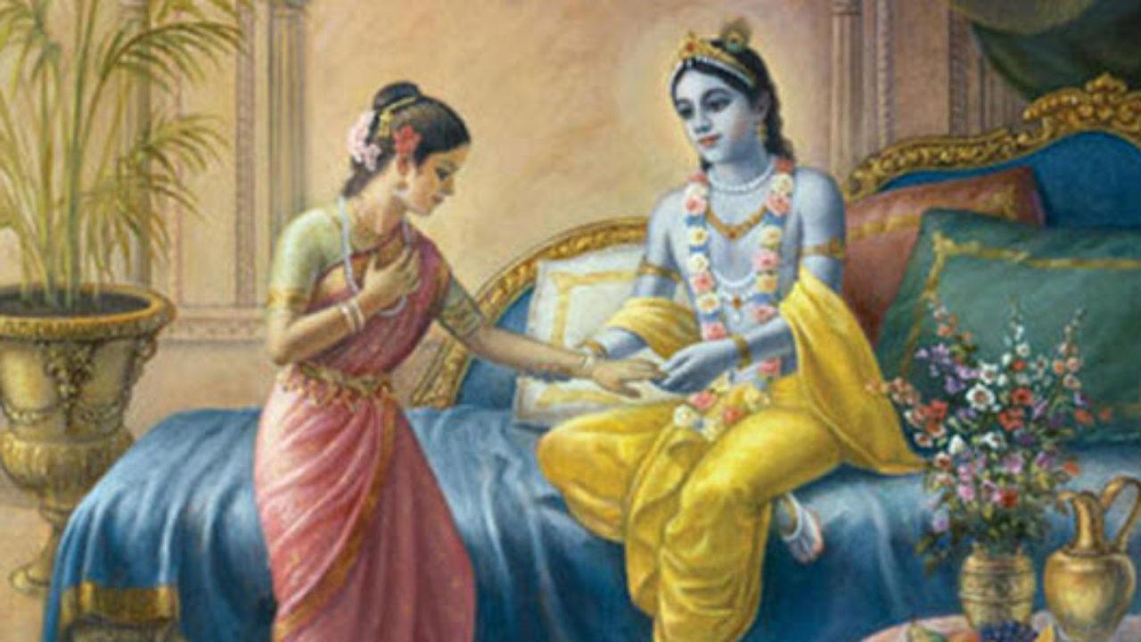 Rukmini Asks Krishna Why He Helps In Killing Bhishma Dronacharya