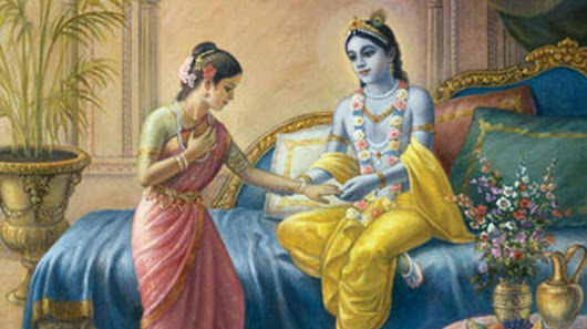 Rukmini asks Krishna that why he helps in killing Bhishma & Dronacharya in Mahabharata
