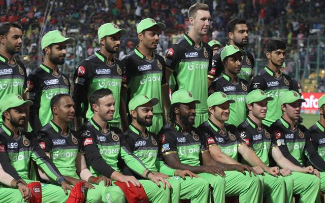 """In every IPL Season, RCB promotes """"Go Green"""" initiative by wearing green jersey for a match. - facts about ipl"""