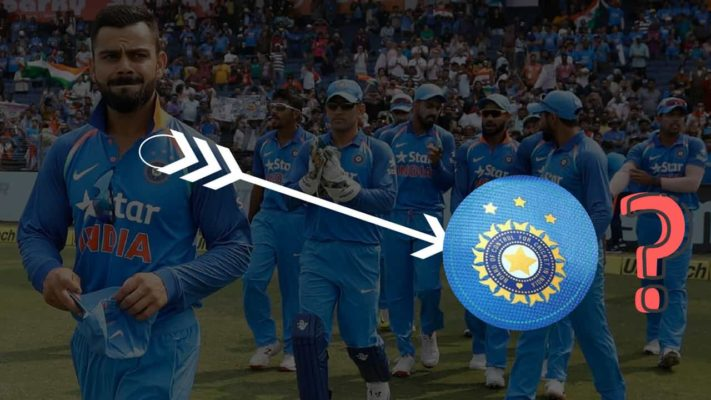 Why Jersey of Indian Cricket Team has three stars above the BCCI Logo?