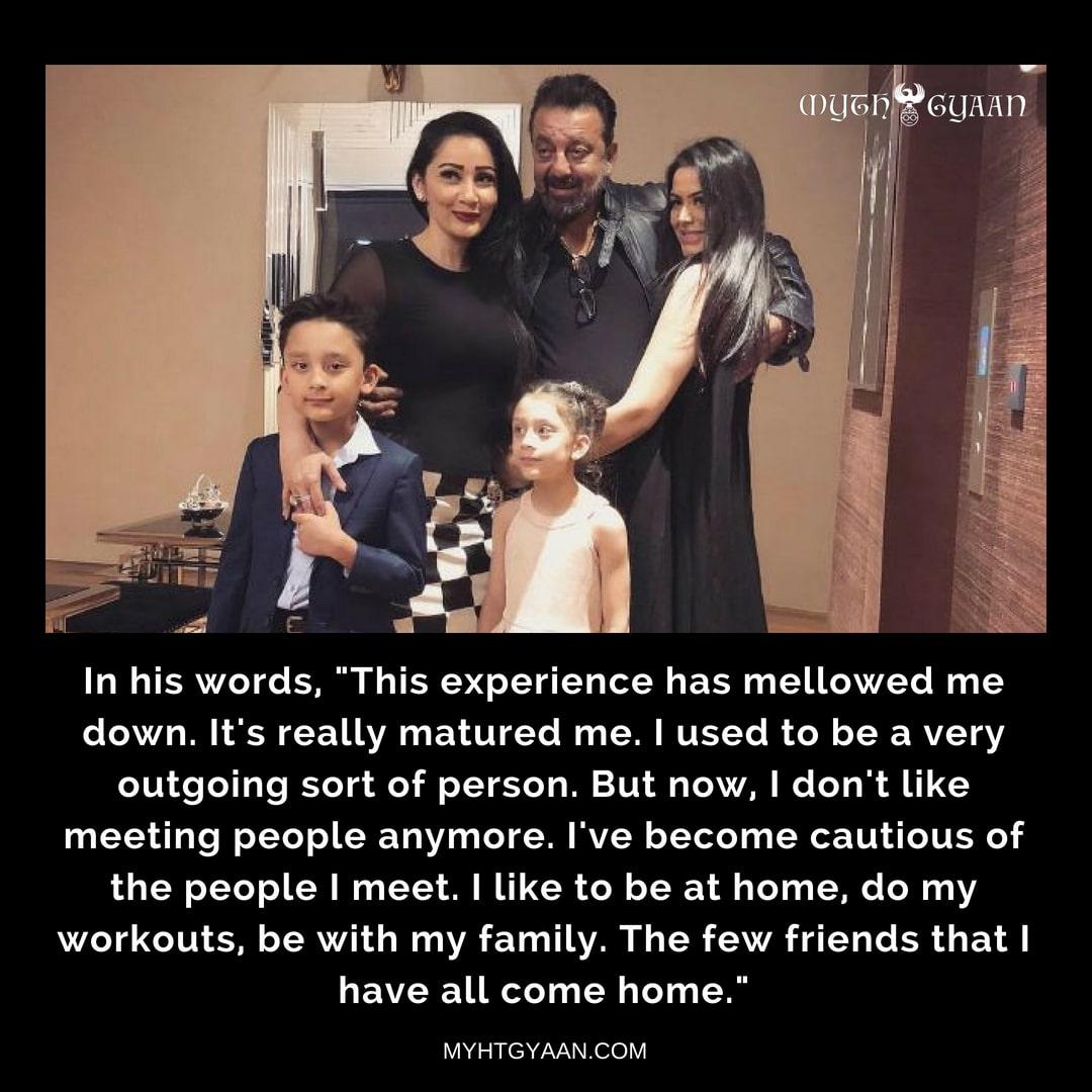 Sanjay Dutt's family