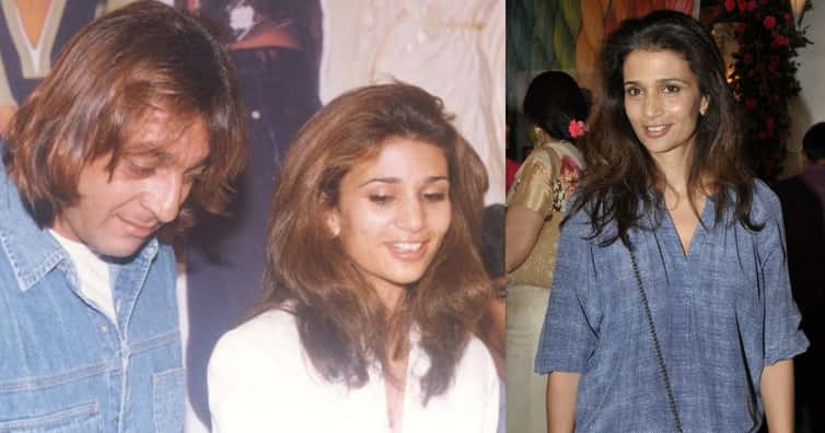 Sanjay Dutt's second marriage was to model Rhea Pillai in 1998. But they got divorced in 2005. - Sanjay Dutt Facts