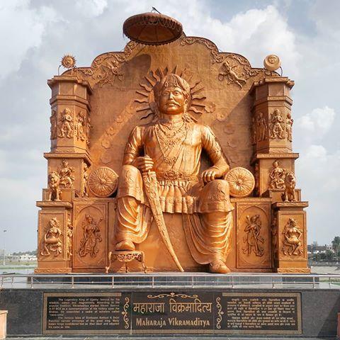 Coronation of King Vikramaditya
