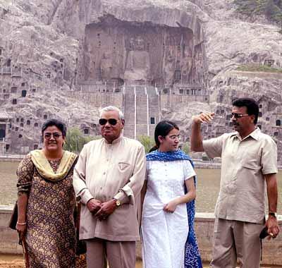 Atal Bihari Vajpayee was a lifelong celibate but has an adopted daughter named Namita Bhattacharya.