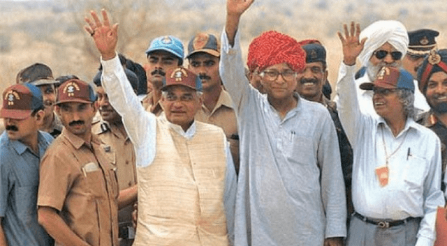 During his tenure as the Prime Minister, India becomes a nuclear state after successfully conducting five underground nuclear tests in Pokhran in May 1998.