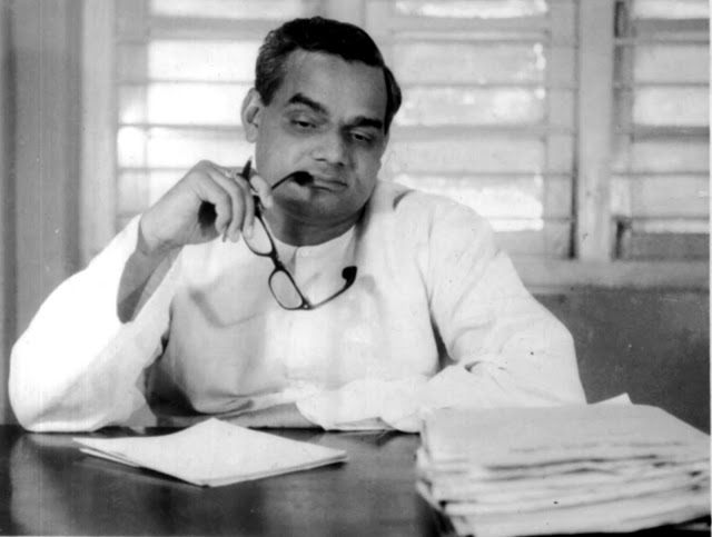 Atal Bihari Vajpayee was a politician by profession and a poet by passion.
