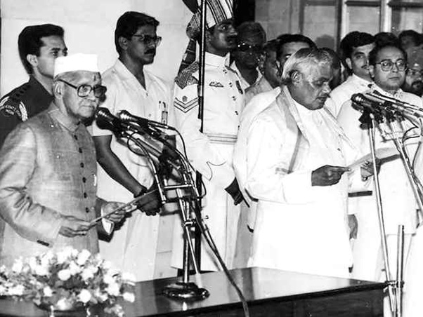 Atal Bihari Vajpayee was the first non-Indian National Congress politician who serves a full five-year term as the Prime Minister of India (1999 - 2004).