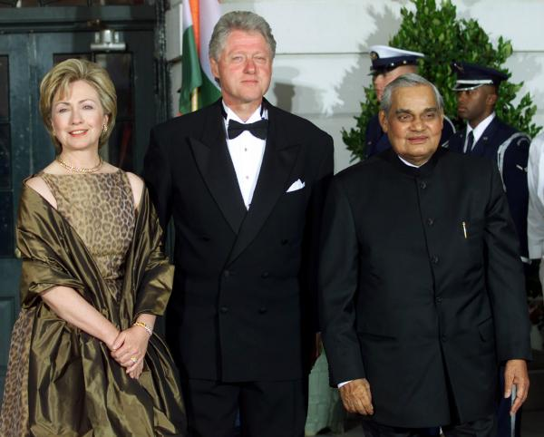 "During the three month Kargil War between India and Pakistan in 1999, Vajpayee sent a ""secret"" letter to then President of USA, Bill Clinton stating that if Pakistani infiltrators did not withdraw from the Indian territory, ""we will get them out, one way or the other""."