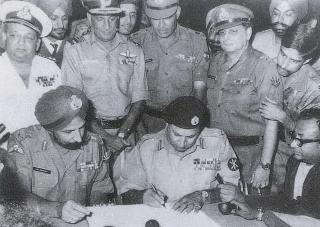Indian Military holds the World Record for accepting the Largest Military Surrender since World War II - Amazing Facts about India
