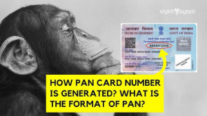 How PAN Card Number is generated? What is the format of PAN?