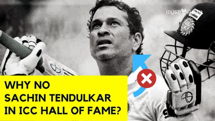 Why Sachin Tendulkar is not included in the ICC Hall of Fame?