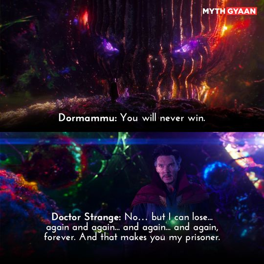 I can lose again and again, forever. - Doctor Strange Quotes