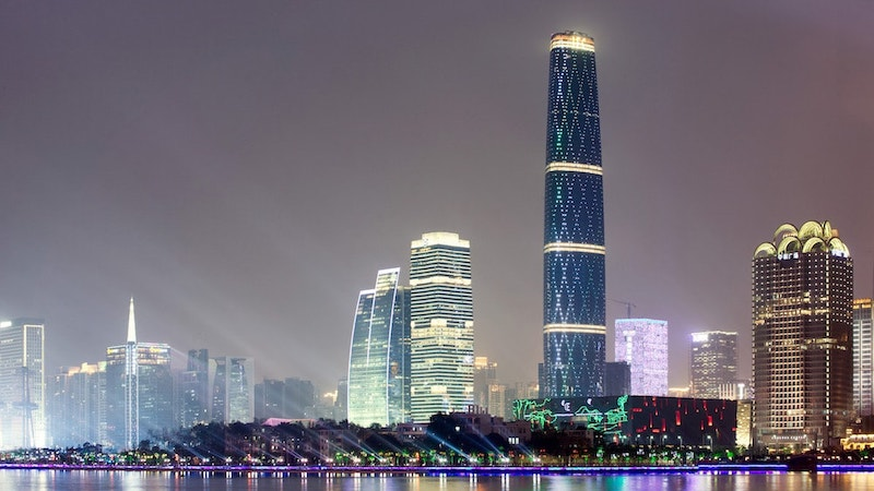 Guangzhou International Finance Center / Guangzhou West Tower, Guangzhou, China