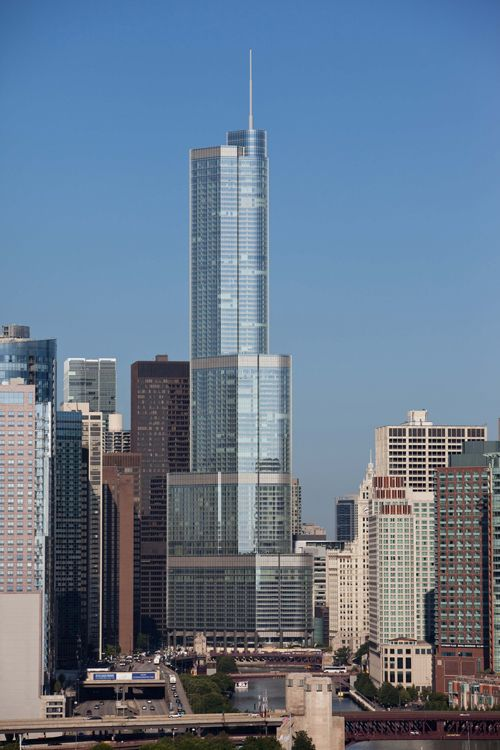 Trump International Hotel and Tower, Chicago, USA